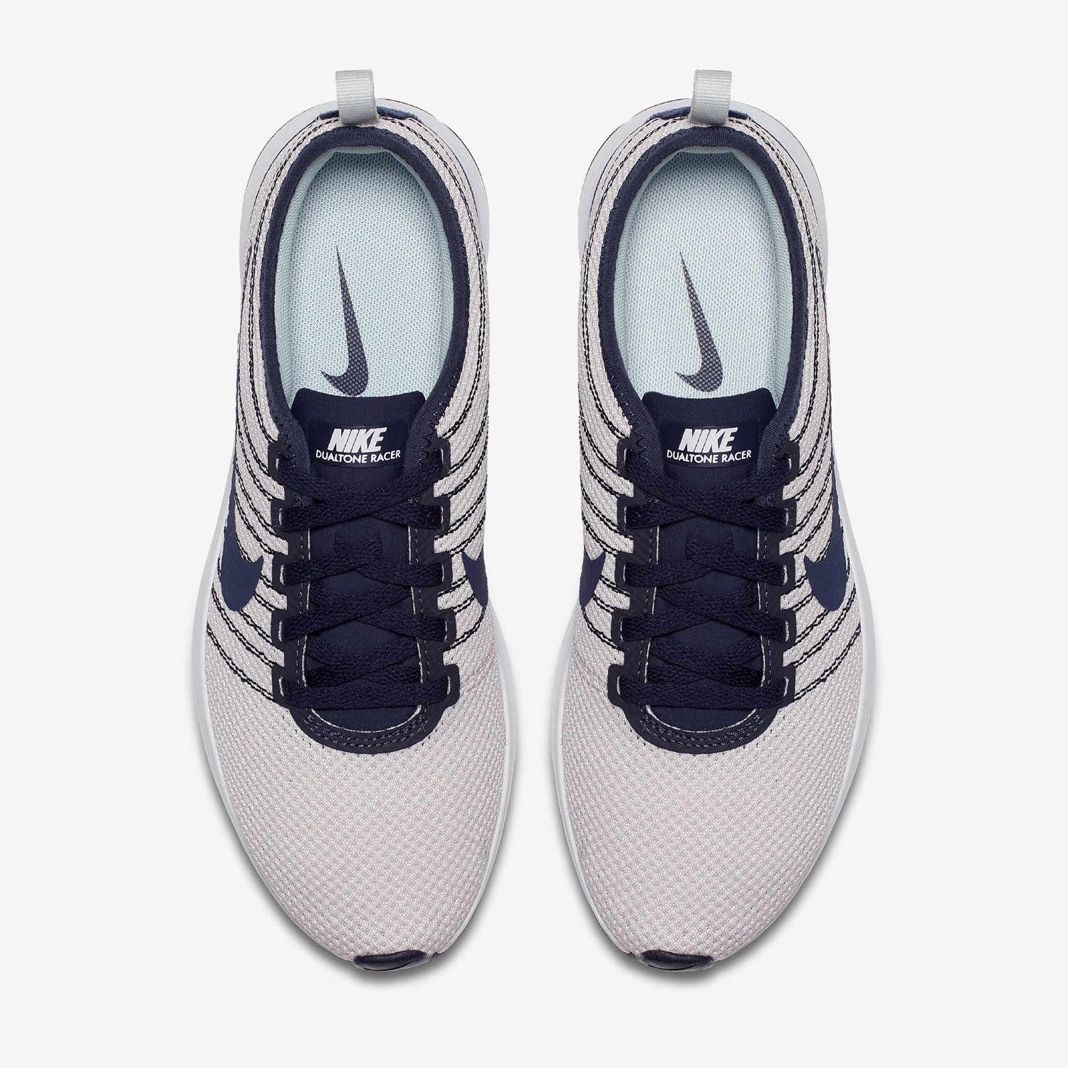 ... Women's shoes Nike Dualtone Racer Light Bone 917682 010 ...