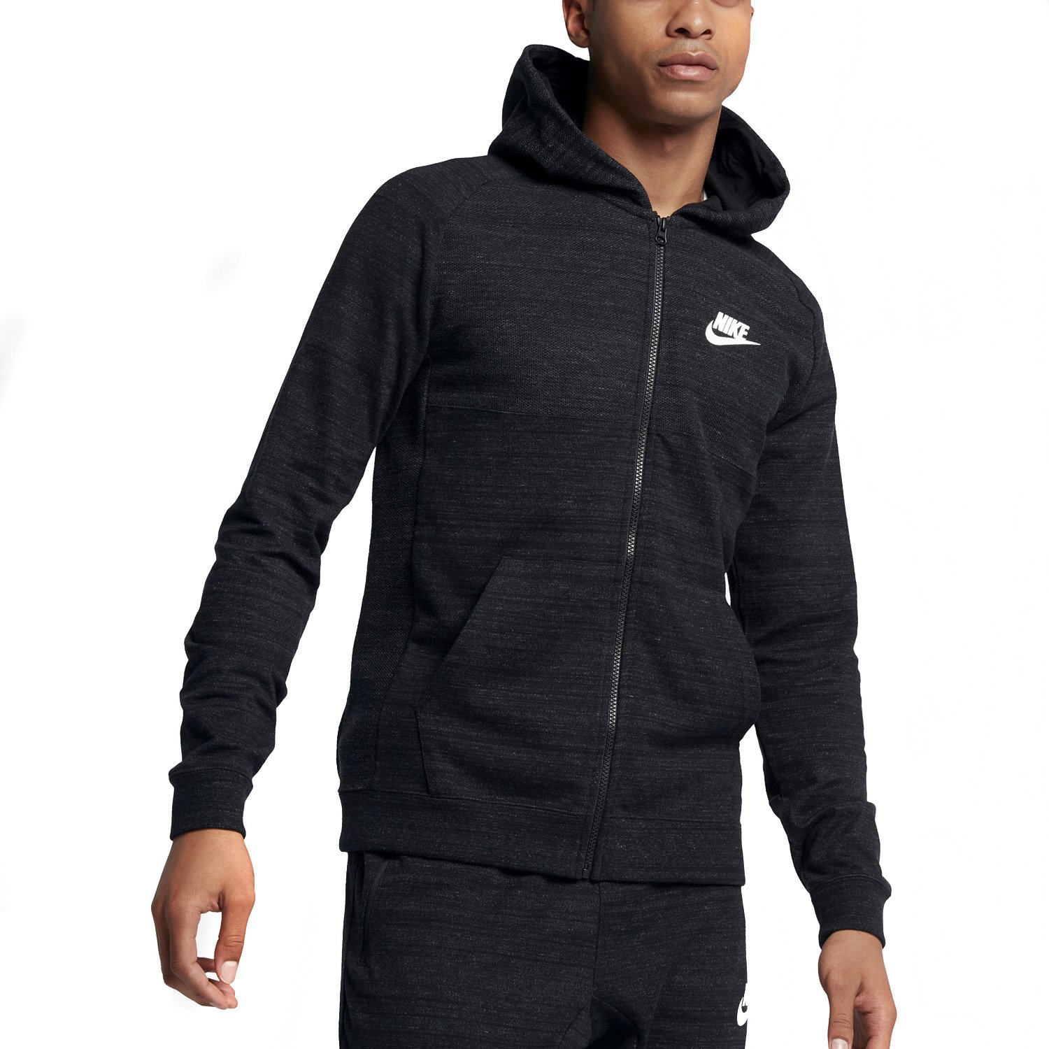 nike sportswear advance 15 hoodie 883025 010 sneaker shop. Black Bedroom Furniture Sets. Home Design Ideas