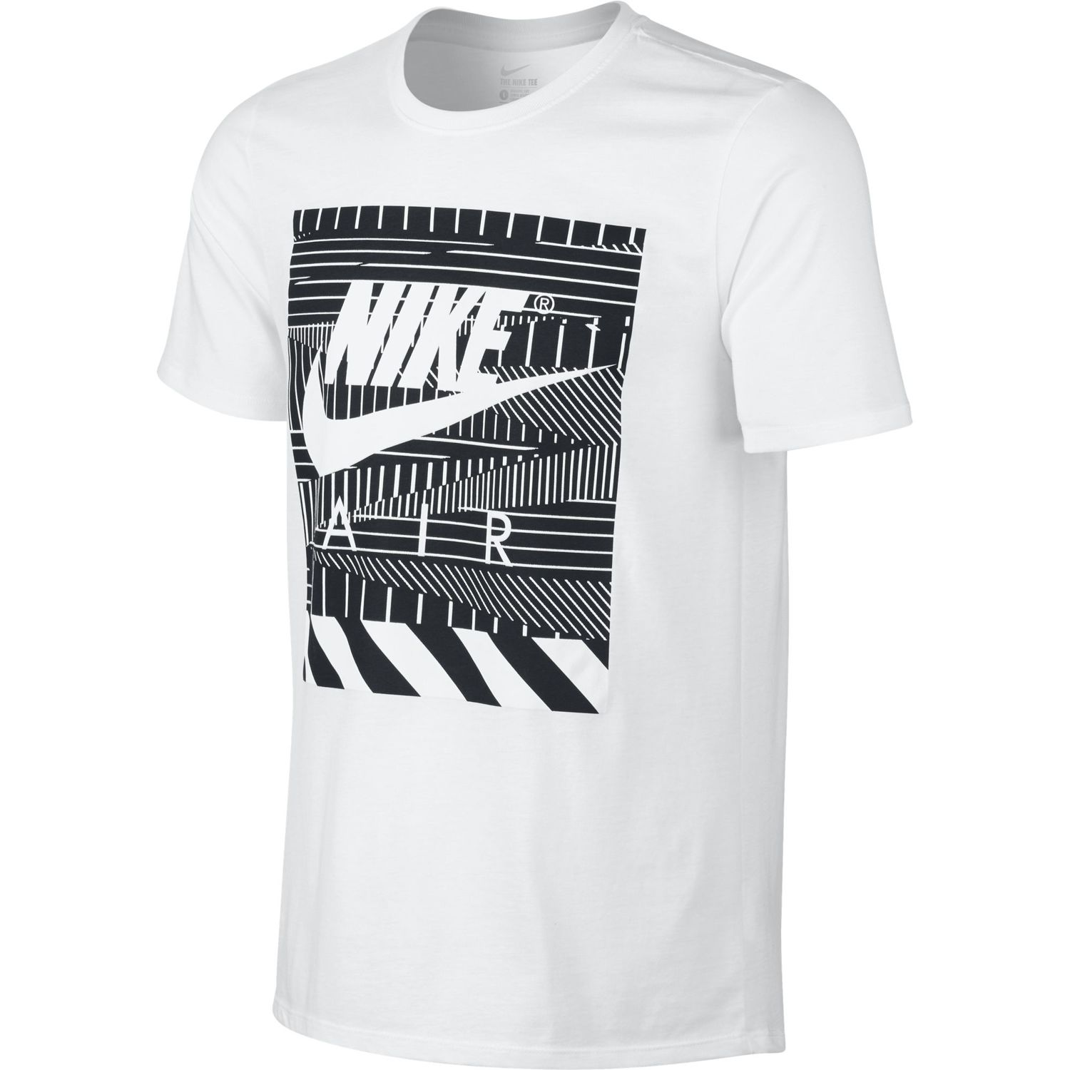 t shirt nike air tee stretcher print 843388 100 sneaker shop. Black Bedroom Furniture Sets. Home Design Ideas